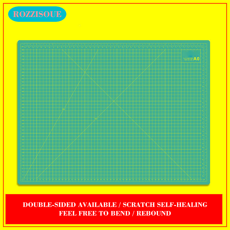 A0 PVC Large Cutting Mat Cutting Pad 5 Layers Patchwork Cut Pad Tools Manual DIY Tool Cutting Board Double-sided Self-healing