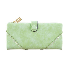 2019 New Brand Women Vintage Wallet Purse Clutch Long Zipper Hasp Fashion Casual Coin Handbag