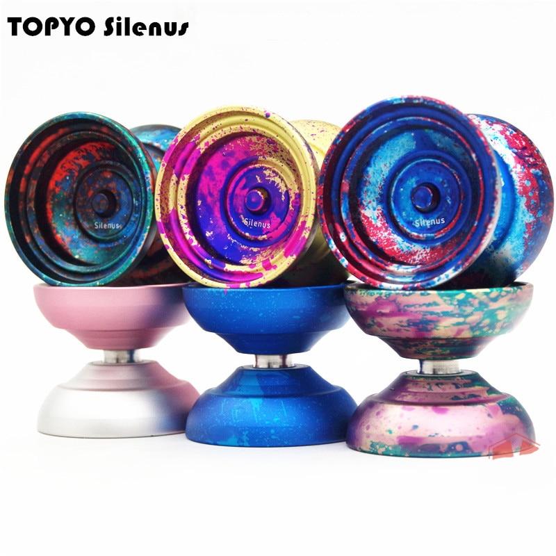 2018 Nouveau arrivent TOPYO Silenus YOYO professionnel yo-yo Le dieu de la forêt yoyo boule de métal Concurrence Professionnel yoyo
