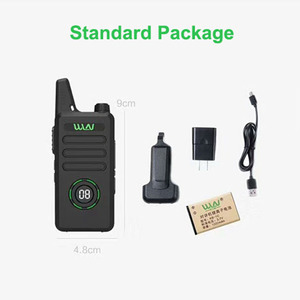 Image 5 - New WLN KD C1plus mini Walkie Upgraded Radio KDC1plus UHF 400 470MHz slim transceiver better than KD C1 two way radios