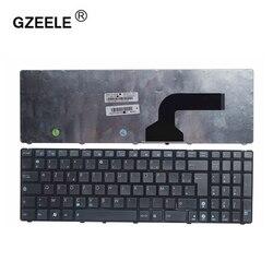Новая Французская клавиатура для ноутбука Asus G72 X53 X54H k53 A53 A52J K52N G53 N53T N61 K53E X52 X52F X52J X55 X55A K73 FR AZERTY