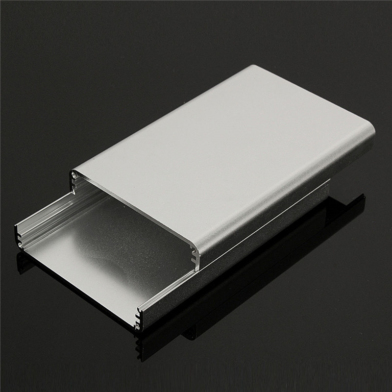 Connectors DIY Aluminum instrument Box Enclosure Case Project Electronic 26*71*110MM Silver Connectors цифровая фотография справочник