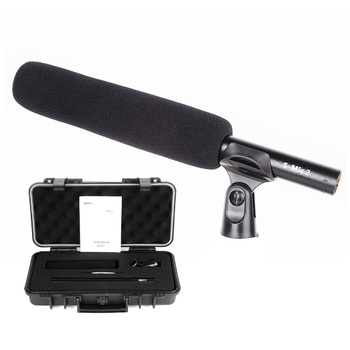 Deity S-Mic 2 Location Kit Broadcast Mic with Super Low Noise Low-noise Directional Microphone for Hi-Res Broadcast / Conference