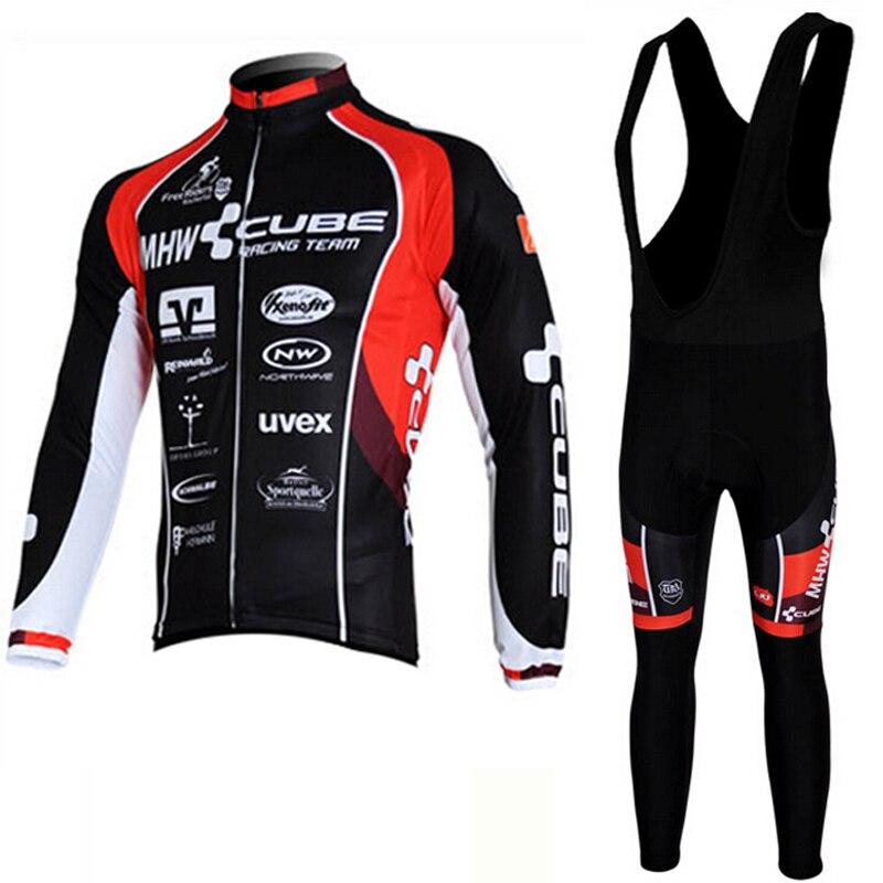 Prix pour Nouveaux Ensembles de Sport Tanhyo long cyclisme Manches jersey vélo chemises Vélo vélo VTT Ciclismo cycle vêtements Pantalon