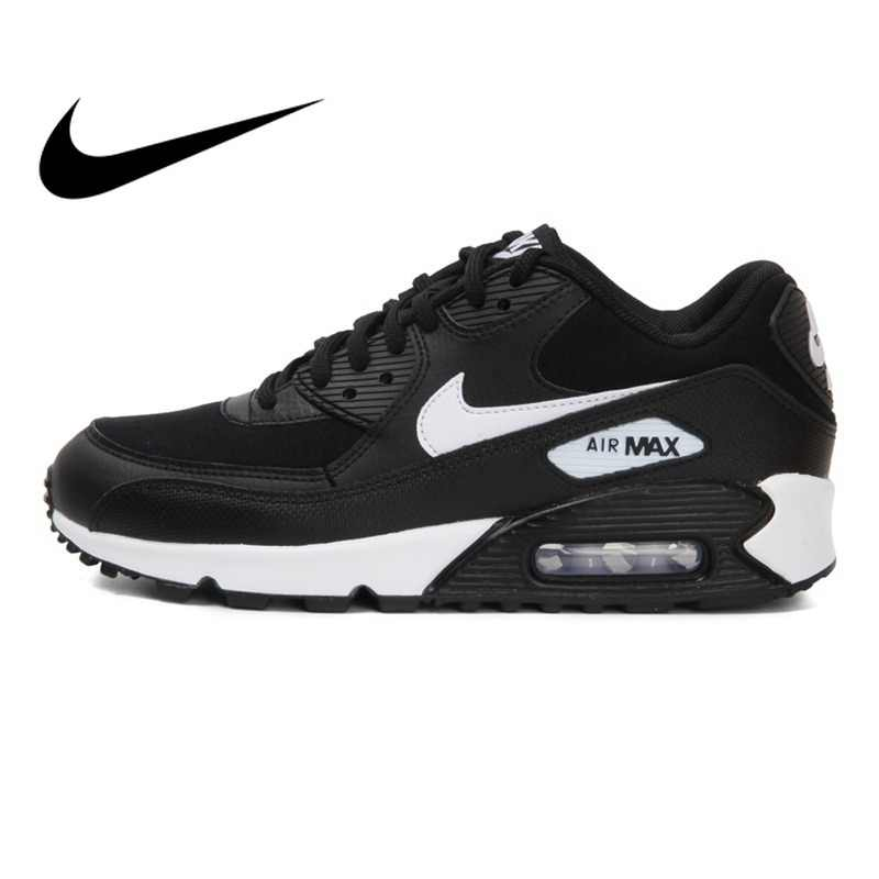 finest selection 06fdc 1c689 Original 2018 NIKE WMNS AIR MAX 90 Women s Running Shoes Sneakers Breathable  Cushioning Nike Shoes Women