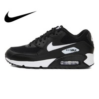 Original 2018 NIKE WMNS AIR MAX 90 Women's Running Shoes Sneakers Breathable Cushioning Nike Shoes Women Outdoor Walking 325213