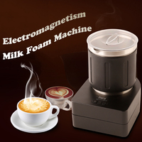 220V Electric Milk Frother for Coffee Milk Foamer Cold and Hot Blender Cappuccino Fancy Coffee Foamer Food Mixer