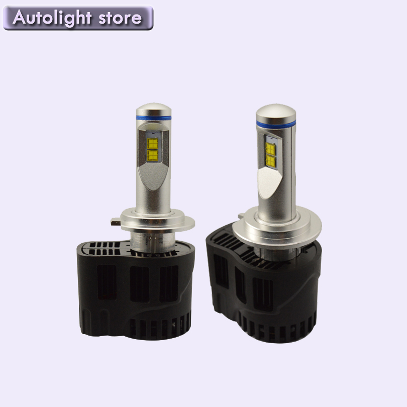 ФОТО New car styling H7 LED Canbus 10400Lm P6 LumiLEDs Car Bulb Auto Lamp Headlight Fog Light Conversion Kit Repl. Halogen Xenon HID