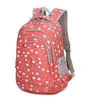 Fashion Girl School Bag Waterproof Light Weight Girls Backpack Bags Printing Backpack Child For Teenage Girls
