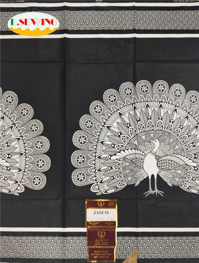 Alta qualidade animal print africano tecido cera 6 metros de algodão para o vestido africano ancara cera com design animal cera java TXT03