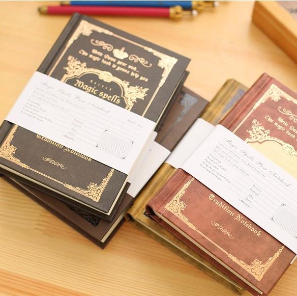 64K Small Pocket Vintage Notebook Handcover Magic vrăji Buzunare - Blocnotesuri și registre - Fotografie 2