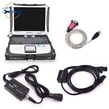 מלגזה משאית אבחון כלי עבור רופא Canbox עם לינדה pathfinder תוכנה + CF19 מחשב נייד