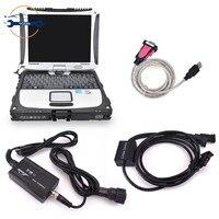 Linde pathfinder 소프트웨어 + CF19 노트북을 갖춘 linde Canbox doctor 용 지게차 진단 도구