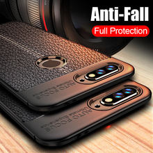 Luxury Leather Carbon Fiber Phone Case For huawei Nova 3 3i 3e Case For huawei Y6 Y7 Prime Y5 2018 Case Y5 Y7 2017 Case Cover(China)