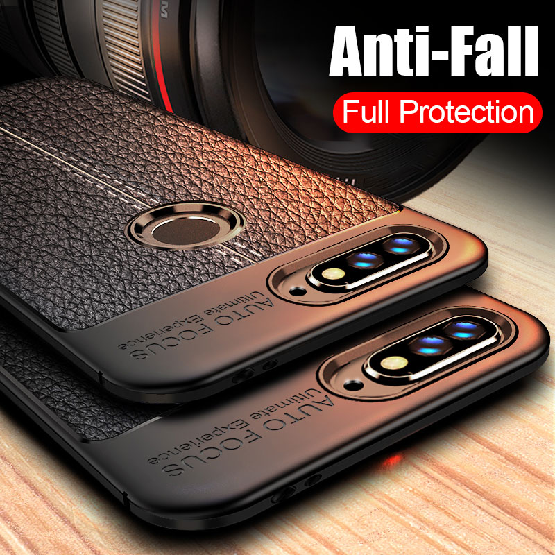 Luxury Leather Carbon Fiber Phone <font><b>Case</b></font> <font><b>For</b></font> <font><b>huawei</b></font> Nova 3 3i 3e <font><b>Case</b></font> <font><b>For</b></font> <font><b>huawei</b></font> <font><b>Y6</b></font> Y7 <font><b>Prime</b></font> Y5 <font><b>2018</b></font> <font><b>Case</b></font> Y5 Y7 2017 <font><b>Case</b></font> <font><b>Cover</b></font> image