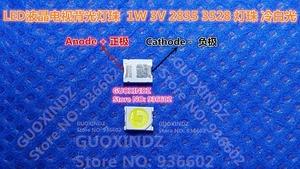 Image 1 - JUFEI podświetlenie LED 1W 3V 1210 3528 2835 84LM zimny biały podświetlenie LCD do telewizora do TV 01.JT. 2835BPW1 C