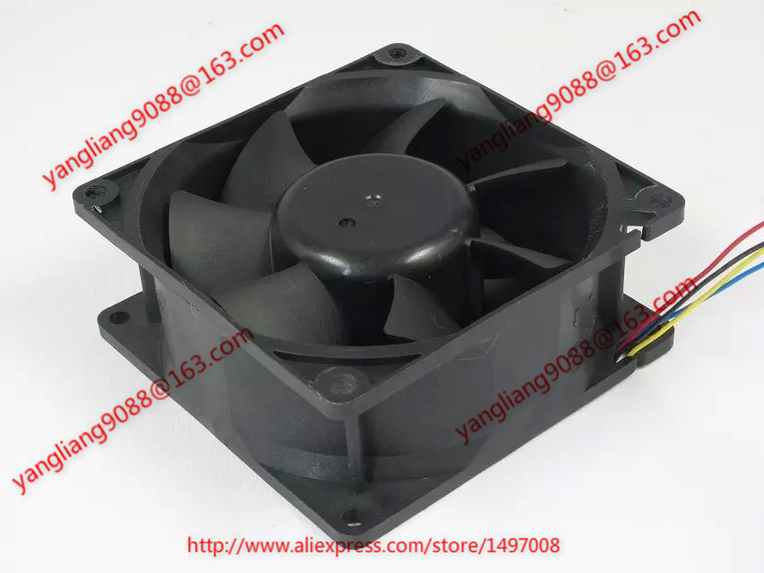 Free Shipping For Nidec V35610-34, CISF DC 50V 0.29A 4-wire 4-pin connector 90mm Server Cooling Square fan original for nidec ta550dc a34885 90 14070 12v 5 0a server cooling fans