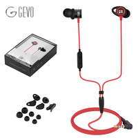 GV3 In Ear Earbuds Wired Noise Cancelling Gaming Headset HIFI Sport Hook Earphones Stereo Bass Headphone