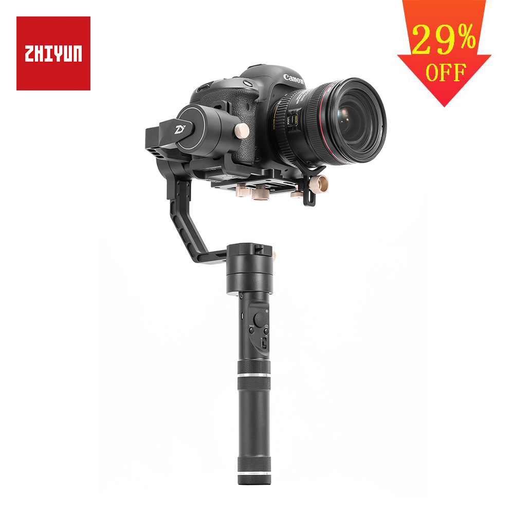 ZHIYUN Official Crane Plus 3 Axis Handheld Gimbal Stabilizer for Mirrorless DSLR Camera for Sony A7/Panasonic LUMIX/Nikon J/Cano-in Handheld Gimbal from Consumer Electronics