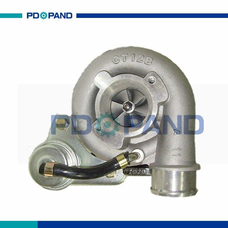 US $138 0 15% OFF engine supercharger CT12B turbo wheel part for Toyota  Land Cruiser 4Runner 1KZ T 1KZ TE diesel engine 1720167010 1720167020-in  Turbo