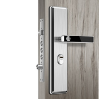 Умный Замок отпечаток пальца электронный дверной замок полупроводниковый безопасная домашняя дверь замок