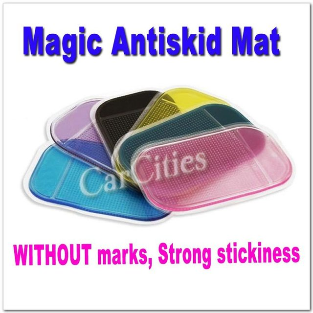 Antiskid Mat for Car non-slip Dash Mat Clean Easily WITHOUT any marks,14*8cm