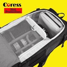 Coress c8011 profesional antirrobo cámara de fotos mochila $ number 'del ordenador portátil impermeable bolsa caso para canon nikon réflex digital de vídeo/dslr