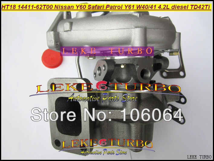 Free Ship HT18 14411-62T00 14411-51N00 047-263 047-334 047-090 047-095 Turbo For NISSAN Y60 Safari Patrol Y61 W40 W41 TD42T 4.2L