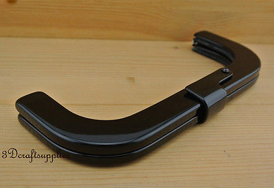 Purse frame Clutch frame bag frame Black 25.5cm x 10cm M73