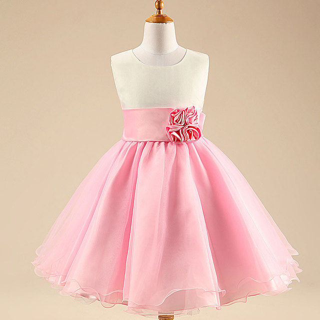 Baby Girl Clothes! kids Evening Dress!girls Blue Dresses Girl\'s Pink ...