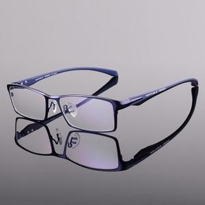 Image 5 - Toptical Fashion Glasses Frame Myopia Men Optical Eyeglasses Frame Commercial Eye Glasses Alloy Acetate Eyewear