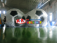 Arched creative inflatable tent Football modeling world cup inflatable shed Court interest advertising