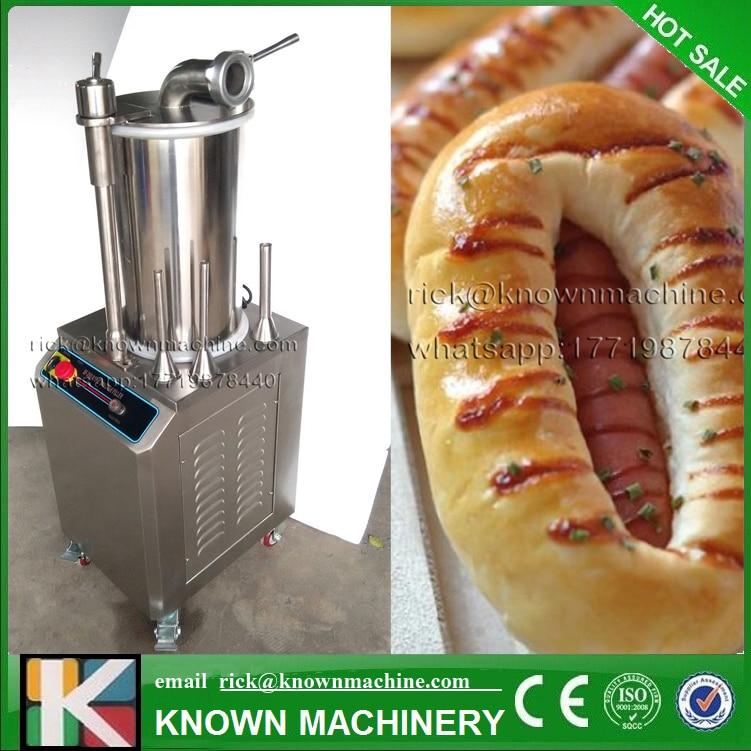 Les différents modèles 15/26/35 L poulet hydraulique saucisse faisant la machine à vendre avec CE certifié