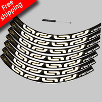 26 Inch Free Shipping 2017 Two Wheels Rim Stickers For MTB Mountain Bike Bicycle E13 Thehive