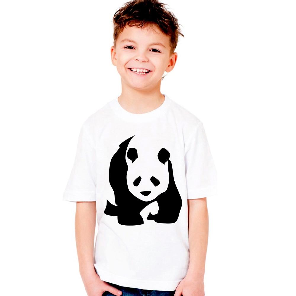 1-12Y Children Cartoon Bear Panda T Shirt Brand 2018 New Boys T-shirt Girl Tshirt Cotton Short Sleeve Tops O-neck Summer Tees
