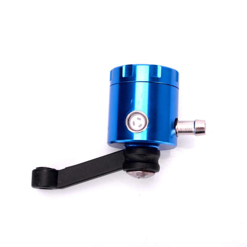 Universal CNC Aluminum Motorcycle Clutch Tank Cylinder Master Oil Cup Brake Fluid Reservoir For Honda Kawasaki Suzuki  Yamaha universal locking 0 625 inch master cylinder hydraulic drift brake handbrake with oil tank reservoir