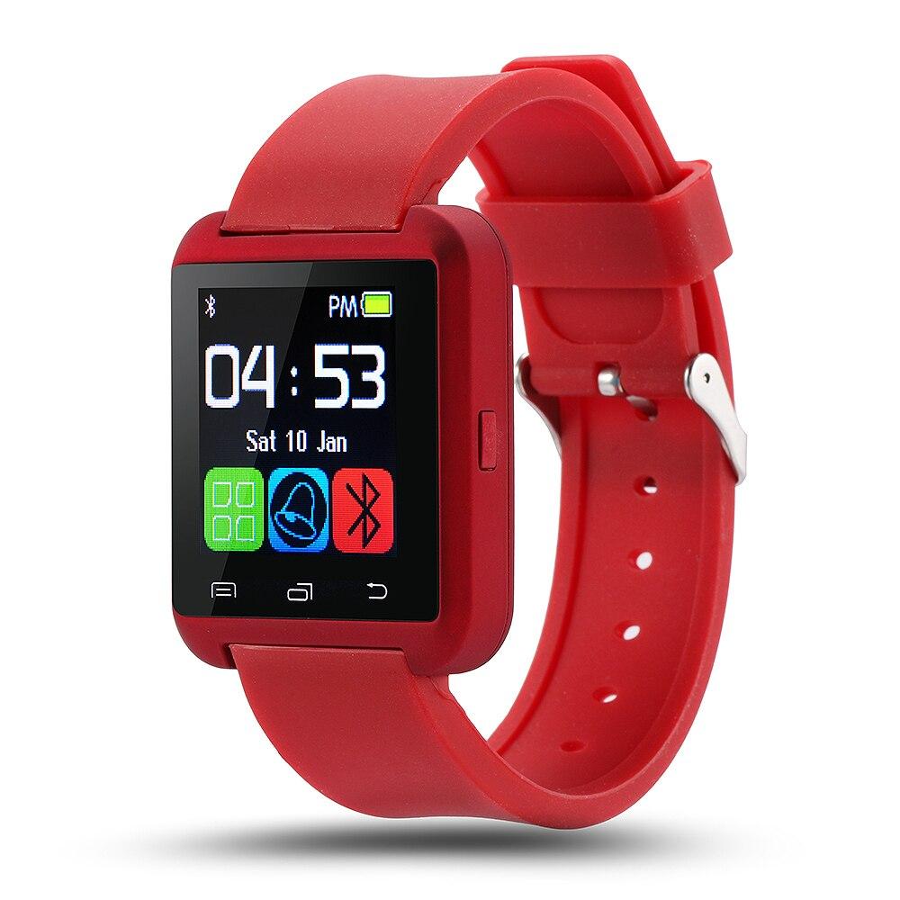 Оригинальный smartwatch bluetooth смарт часы u8 u часы для ios iphone samsung sony huawei xiaomi телефонов android смарт часы россия.