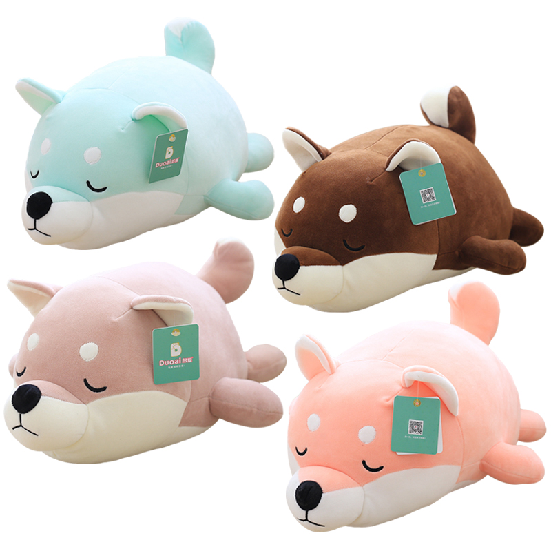 35cm Kawaii Plush Dog Toys Stuffed Soft Akita Dog Toys Cute Cartoon Animal Dolls for Children Kids Home Decor Creative Gifts 45cm cute dog plush toy stuffed cute husky dog toy kids doll kawaii animal gift home decoration creative children birthday gift