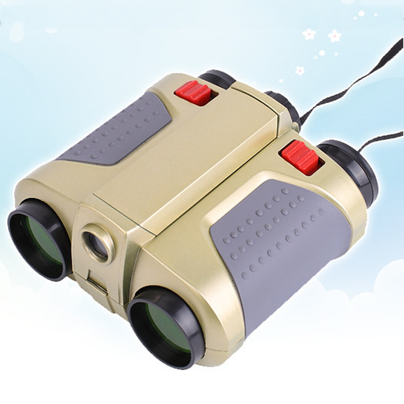 TUOBING Children Binoculars 4X30 Telescope Great Vision Optics Outdoor Spotting Clear Eyepiece Lense Objective for Playing