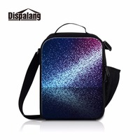 Dispalang shining lunch bags for teens girls women lunch pouch with zipper closure school thermo mini lunch box for children