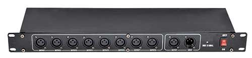 4X LOT 8 Way DMX Signal Splittter DMX512 Distribution Amplifier Stage Light 4 Road 8 Channels Signal Controller Console Stage dmx512 digital display 24ch dmx address controller dc5v 24v each ch max 3a 8 groups rgb controller