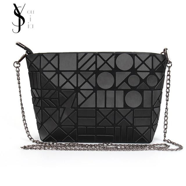 c93643e6098e Famous Brands Women BaoBao Bags Chain Luminous Crossbody Shoulder Bag  Geometric Quilted Luxury Bao Bao Handbag