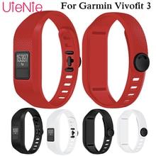 цена на For Garmin Vivofit 3 Soft Silicone Replacement Wrist Watch Band Strap Accessory Wristbands For Garmin Vivofit 3 smart watch band