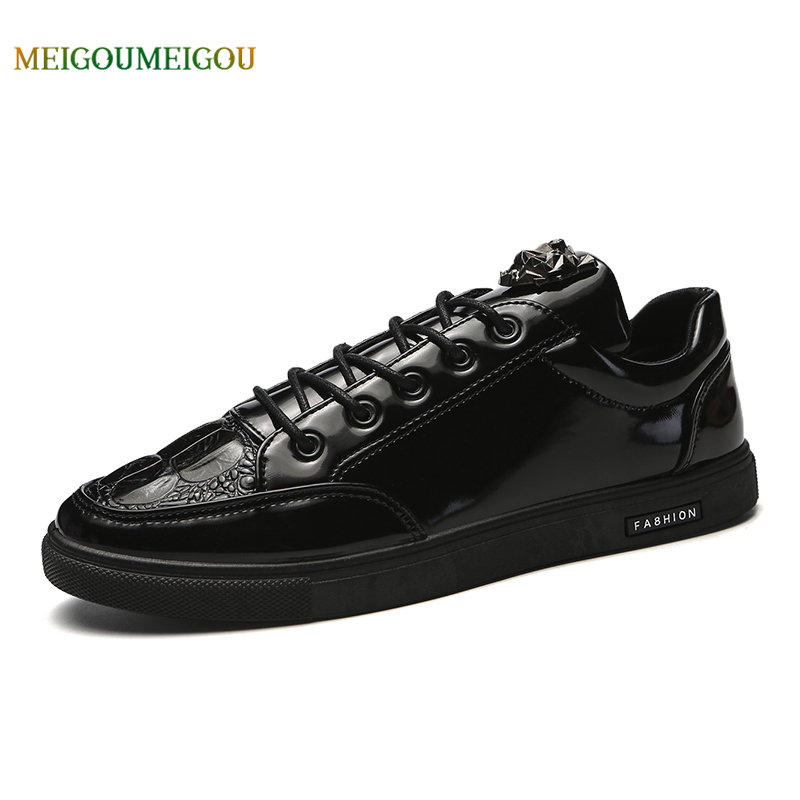 MEIGOUMEIGOU Pure Black Men Vulcanize Shoes Men Soft & Comfortable Massage Shoes Men Simple Casual Shoes Men Increased Foot Care simple men s casual shoes with criss cross and color block design