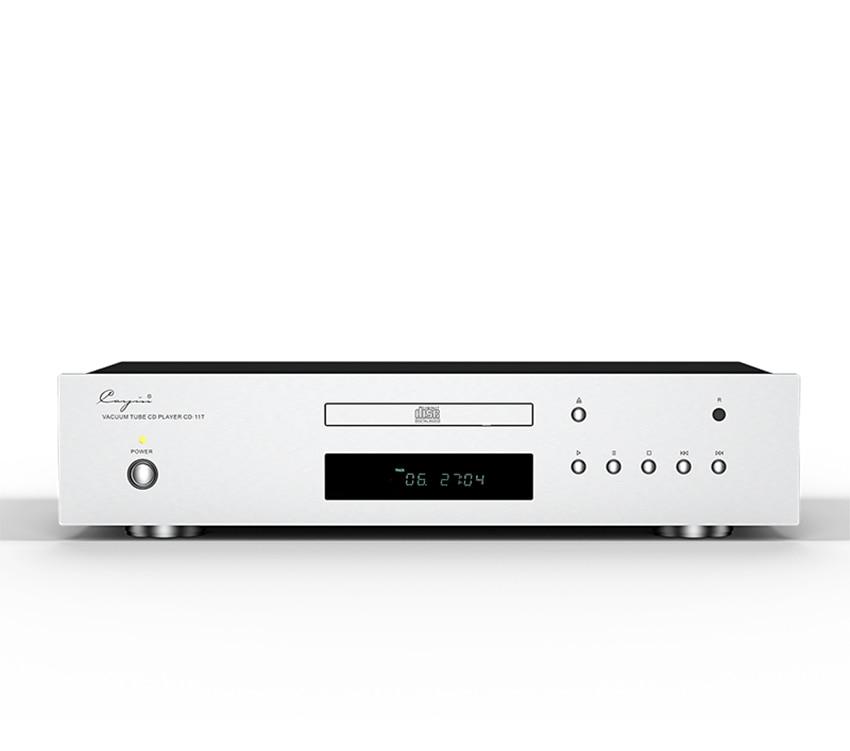 Cayin-CD-11T Vacuum tube CD player XLR RCA Optical Coaxial output CS4398 Chip Special EI transformer 12AU7 shanling cd t2000 hifi cd player hi end vacuum tube cd player pcm1792 24bit 192khz coaxial usb dac xlr output