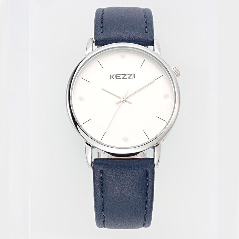 Free shipping Kezzi Students Girls Boys Watch k1521 Quartz Analog Leather Dress Wristwatches Fashion Casual Waterproof