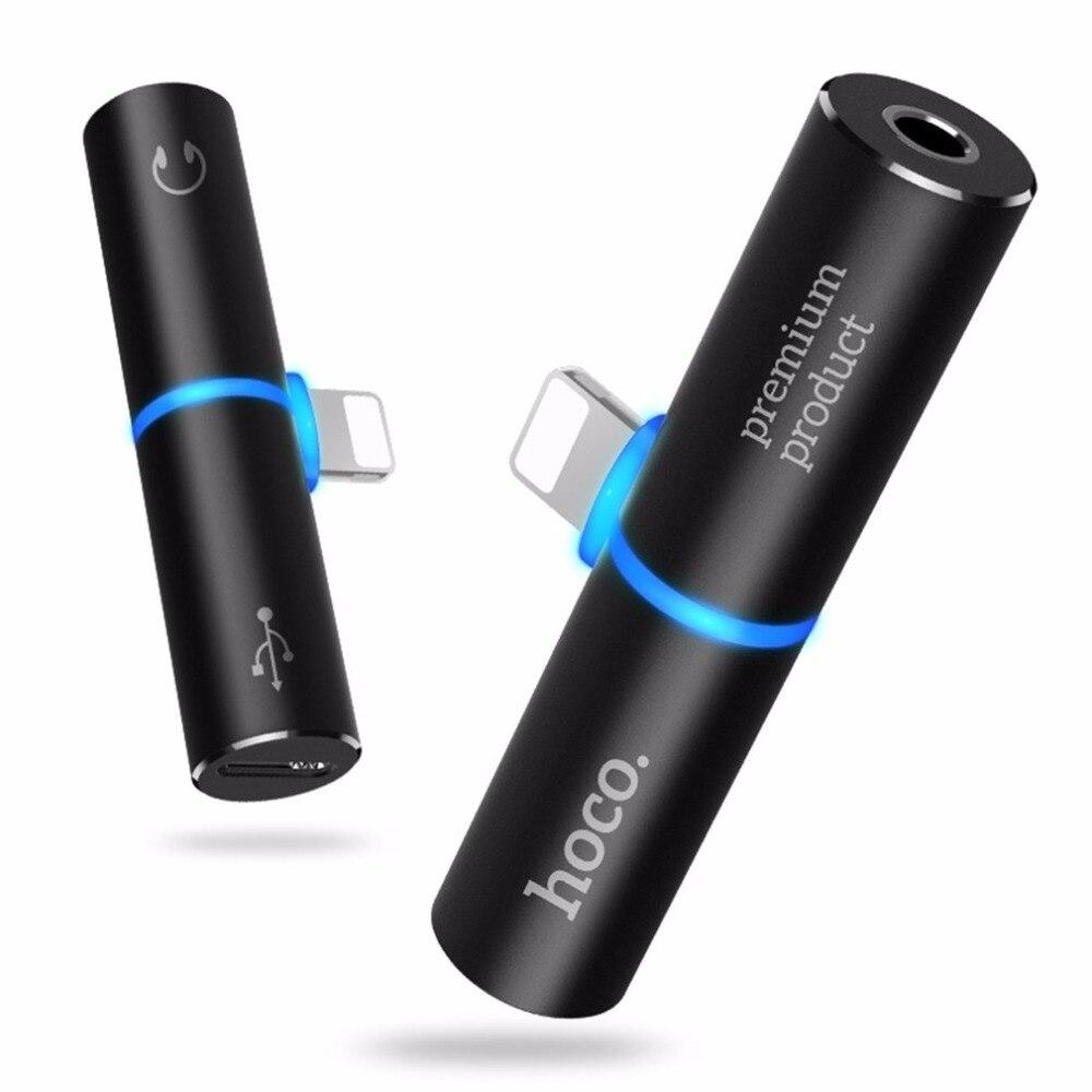 Pour La Foudre à 3.5mm Jack 2 en 1 De Charge Audio Adaptateur écouteur Casque Audio Converter pour Apple iPhone 7/7 Plus