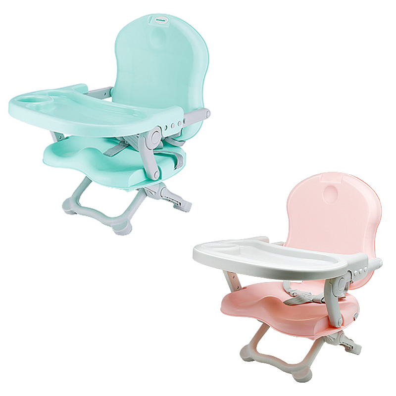 Portable Children's Dining Chair Baby Eating Chair Multi-function Folding Outdoor Baby Table Seat