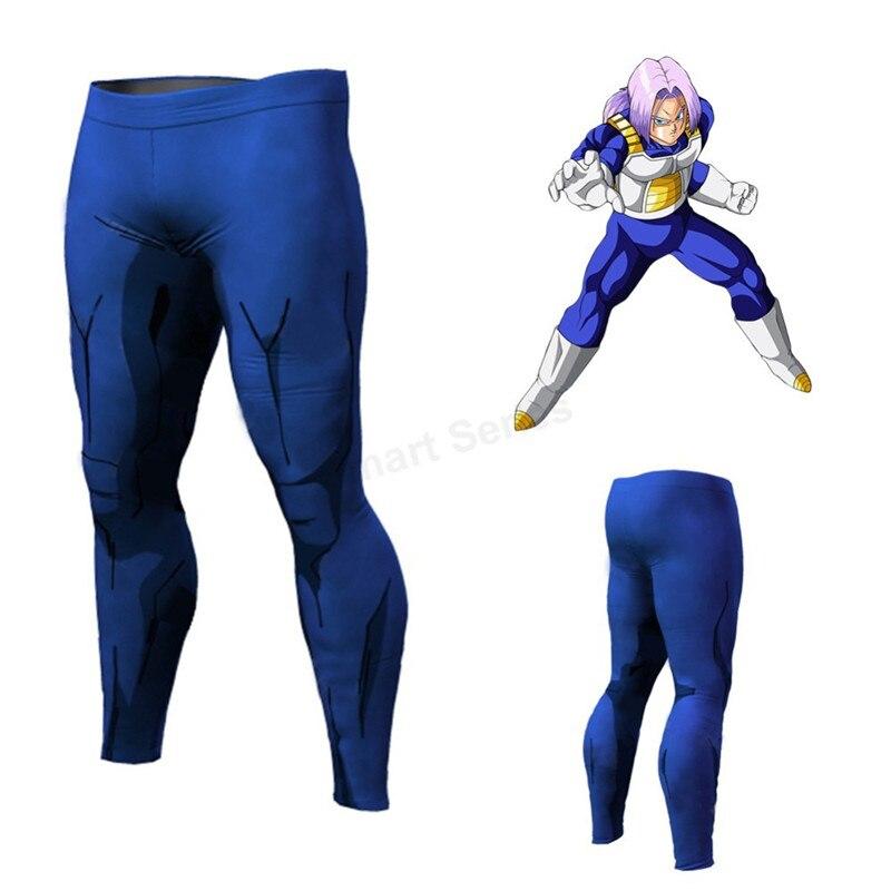 Pantaloni lunghi Vita Elastica Dragon Ball Anime Fitness Leggings Goku Cosplay Abbigliamento Bodybuilding Pantaloni Della Tuta Activewear Streetwear