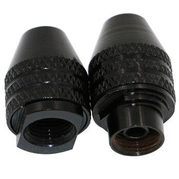 цена на 1pcs 0.3-3.4mm Mini Multi Keyless Drill Chuck For Rotary Tools M8X0.75 Quick Change Three-Jaw Drill Chuck